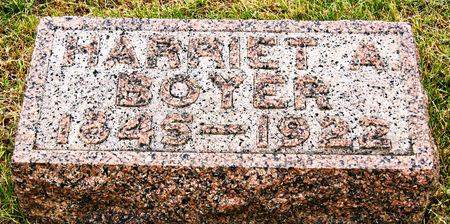 BOYER, HARRIET A. - Taylor County, Iowa | HARRIET A. BOYER