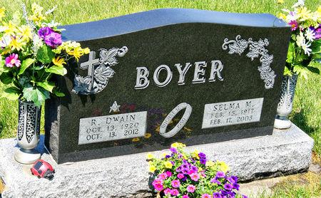 LIECHTI BOYER, SELMA MARIE - Taylor County, Iowa | SELMA MARIE LIECHTI BOYER