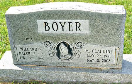BOYER, MYRTLE  CLAUDINE - Taylor County, Iowa   MYRTLE  CLAUDINE BOYER