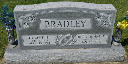 BRADLEY, HUBERT HARRY, SR. - Taylor County, Iowa | HUBERT HARRY, SR. BRADLEY