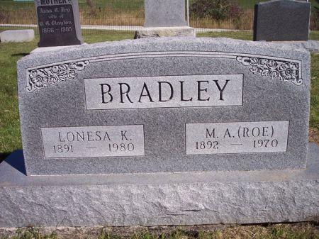 BRADLEY, M.A.