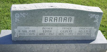 BRANAN, EDITH - Taylor County, Iowa | EDITH BRANAN