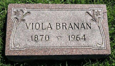 BRANAN, VIOLA ALMEDA - Taylor County, Iowa | VIOLA ALMEDA BRANAN
