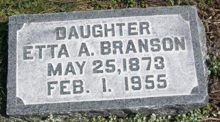 BRANSON, ETTA A. - Taylor County, Iowa | ETTA A. BRANSON
