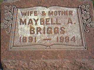 BRIGGS, MAYBELL A. - Taylor County, Iowa | MAYBELL A. BRIGGS