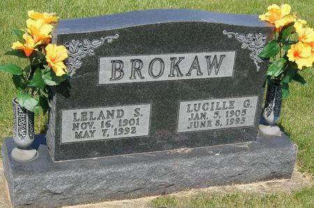 KEMPTON BROKAW, LUCILLE GRACE - Taylor County, Iowa   LUCILLE GRACE KEMPTON BROKAW