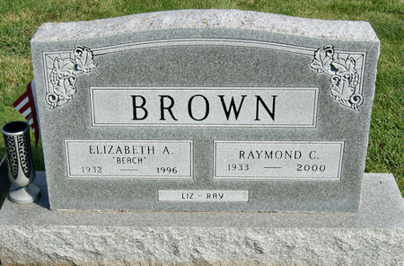 BROWN, ELIZABETH ANNE - Taylor County, Iowa | ELIZABETH ANNE BROWN