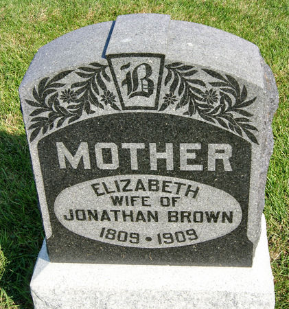BROWN, ELIZABETH