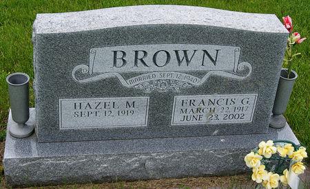 BROWN, FRANCIS GLENN - Taylor County, Iowa | FRANCIS GLENN BROWN