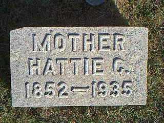 BROWN, HATTIE C. - Taylor County, Iowa | HATTIE C. BROWN