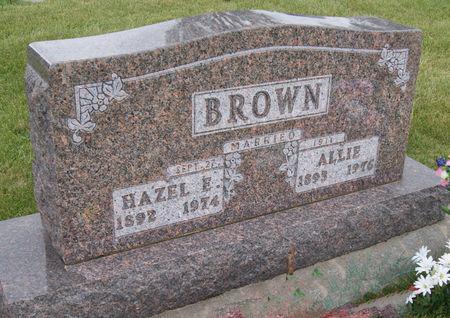 KING BROWN, HAZEL ELSIE - Taylor County, Iowa | HAZEL ELSIE KING BROWN