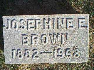 BROWN, JOSEPHINE E. - Taylor County, Iowa | JOSEPHINE E. BROWN