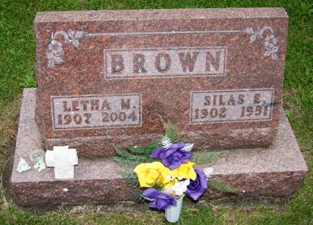 BROWN, SILAS EDWARD - Taylor County, Iowa   SILAS EDWARD BROWN