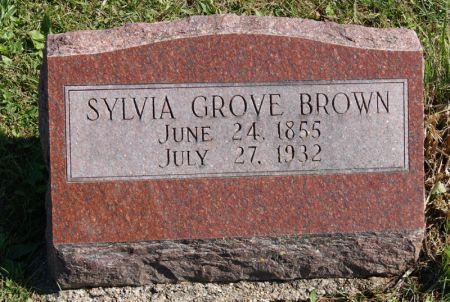 REED BROWN, SYLVIA GROVE - Taylor County, Iowa | SYLVIA GROVE REED BROWN