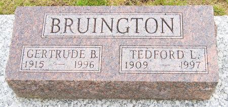 HALE BRUINGTON, GERTRUDE BELL - Taylor County, Iowa   GERTRUDE BELL HALE BRUINGTON