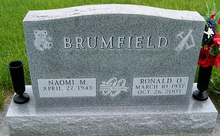 BRUMFIELD, RONALD OLIN - Taylor County, Iowa   RONALD OLIN BRUMFIELD