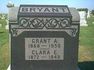 BRYANT, GRANT A. - Taylor County, Iowa | GRANT A. BRYANT