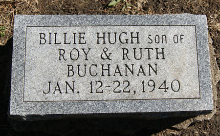 BUCHANAN, BILLIE HUGH - Taylor County, Iowa | BILLIE HUGH BUCHANAN