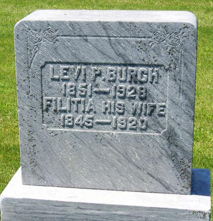 GREIGG BURCH, FILITIA - Taylor County, Iowa | FILITIA GREIGG BURCH