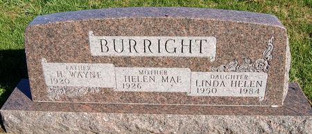 BURRIGHT, HENRY  WAYNE - Taylor County, Iowa   HENRY  WAYNE BURRIGHT