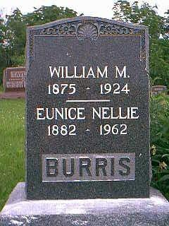 BURRIS, EUNICE NELLIE - Taylor County, Iowa | EUNICE NELLIE BURRIS