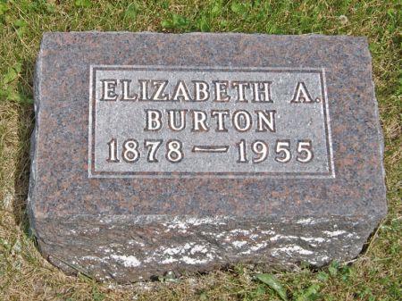 ADKINS BURTON, ELIZABETH - Taylor County, Iowa | ELIZABETH ADKINS BURTON