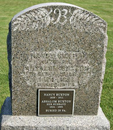 BUXTON, NANCY - Taylor County, Iowa | NANCY BUXTON