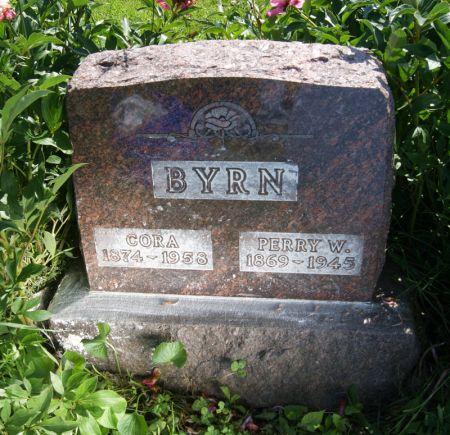 MORRIS BYRN, CORA - Taylor County, Iowa   CORA MORRIS BYRN