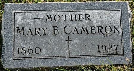 CAMERON, MARY ELLEN - Taylor County, Iowa   MARY ELLEN CAMERON