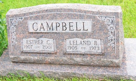 OLSON CAMPBELL, ESTHER CHARLOTTE - Taylor County, Iowa   ESTHER CHARLOTTE OLSON CAMPBELL