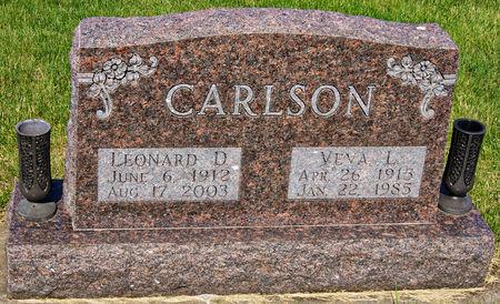 MCMATH CARLSON, VEVA LUCILLE - Taylor County, Iowa   VEVA LUCILLE MCMATH CARLSON