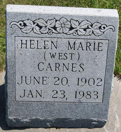 CARNES, HELEN MARIE - Taylor County, Iowa | HELEN MARIE CARNES