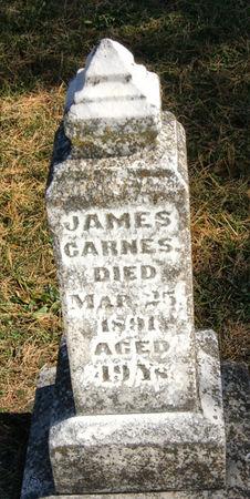 CARNES, JAMES - Taylor County, Iowa   JAMES CARNES