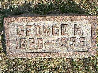 CARPENTER, GEORGE H. - Taylor County, Iowa | GEORGE H. CARPENTER