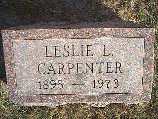 CARPENTER, LESLIE L. - Taylor County, Iowa | LESLIE L. CARPENTER