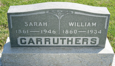 CARRUTHERS, WILLIAM, SR. - Taylor County, Iowa | WILLIAM, SR. CARRUTHERS