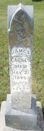 CARSON, JAMES - Taylor County, Iowa | JAMES CARSON