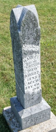CARSON, MARGARET (MARGET) - Taylor County, Iowa | MARGARET (MARGET) CARSON