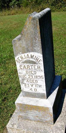 CARTER, BENJAMIN W. - Taylor County, Iowa | BENJAMIN W. CARTER