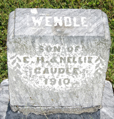 CAUDLE, WENDLE - Taylor County, Iowa | WENDLE CAUDLE