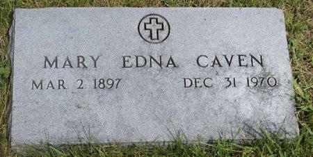 BOYER CAVEN, MARY EDNA - Taylor County, Iowa | MARY EDNA BOYER CAVEN