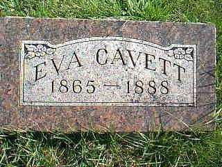 CAVETT, EVA - Taylor County, Iowa   EVA CAVETT