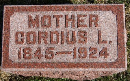 LOVITT CHANDLER, CORDIUS - Taylor County, Iowa   CORDIUS LOVITT CHANDLER