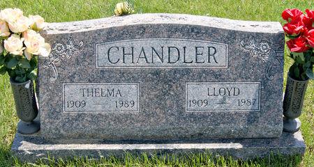 CHANDLER, THELMA EULALAH - Taylor County, Iowa   THELMA EULALAH CHANDLER