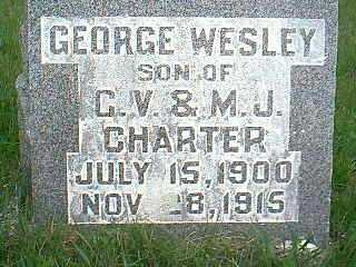 CHARTER, GEORGE WESLEY - Taylor County, Iowa | GEORGE WESLEY CHARTER