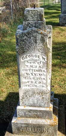 CHITTENDEN, GEORGE WALLACE - Taylor County, Iowa | GEORGE WALLACE CHITTENDEN