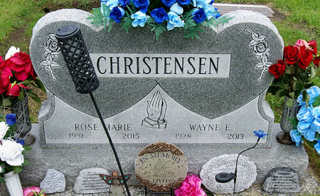 WEPPLER CHRISTENSEN, ROSE MARIE - Taylor County, Iowa | ROSE MARIE WEPPLER CHRISTENSEN