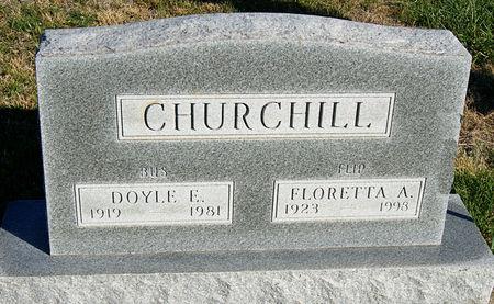 CHURCHILL, DOYLE ELMER - Taylor County, Iowa   DOYLE ELMER CHURCHILL