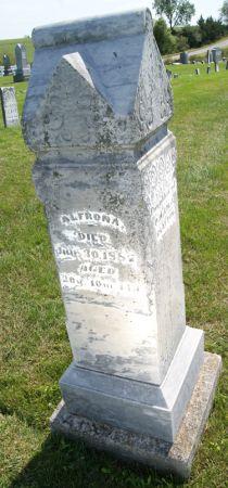 CLAYTON, ALFRONA - Taylor County, Iowa | ALFRONA CLAYTON