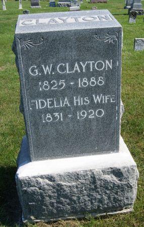 CLAYTON, GEORGE WASHINGTON - Taylor County, Iowa | GEORGE WASHINGTON CLAYTON